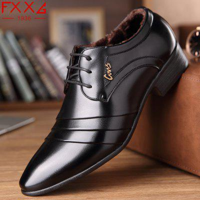 Plus Cotton Warm Leather Business ShoesFormal Shoes<br>Plus Cotton Warm Leather Business Shoes<br><br>Available Size: 38?39?40?41?42?43?44<br>Closure Type: Elastic band<br>Embellishment: None<br>Gender: For Men<br>Occasion: Dress<br>Outsole Material: Rubber<br>Package Contents: 1xshoes(pair)<br>Pattern Type: Solid<br>Season: Summer, Winter, Spring/Fall<br>Toe Shape: Pointed Toe<br>Toe Style: Closed Toe<br>Upper Material: PU<br>Weight: 1.5600kg