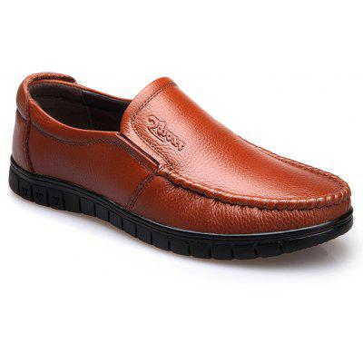 Men Leather Business Casual Shoes