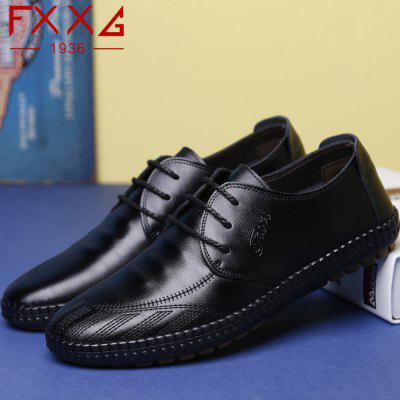 Low Frenulum Single Shoe Leather Casual ShoesMen's Oxford<br>Low Frenulum Single Shoe Leather Casual Shoes<br><br>Available Size: 38?39?40?41?42?43?44<br>Closure Type: Lace-Up<br>Embellishment: None<br>Gender: For Men<br>Outsole Material: Rubber<br>Package Contents: 1xshoes(pair)<br>Pattern Type: Solid<br>Season: Summer, Winter, Spring/Fall<br>Toe Shape: Round Toe<br>Toe Style: Closed Toe<br>Upper Material: Cow Split<br>Weight: 1.5600kg