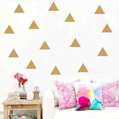 Triangles DIY Wall Stickers Vinyl Decal Removable Wall Art for Nursery Kids RoomWall Stickers<br>Triangles DIY Wall Stickers Vinyl Decal Removable Wall Art for Nursery Kids Room<br><br>Art Style: Plane Wall Stickers, Toilet Stickers<br>Color Scheme: Others<br>Function: Decorative Wall Sticker<br>Material: Paper, Vinyl(PVC)<br>Package Contents: 1 x wall sticker<br>Package size (L x W x H): 56.00 x 5.00 x 5.00 cm / 22.05 x 1.97 x 1.97 inches<br>Package weight: 0.1000 kg<br>Quantity: 1 Set<br>Sizes: Others<br>Subjects: Flower,Shape,Romance<br>Suitable Space: Living Room,Bedroom,Office,Kids Room,Corridor,Kids Room,Study Room / Office,Boys Room<br>Type: Plane Wall Sticker