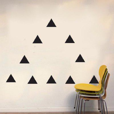Triangles DIY Wall Stickers Vinyl Decal Removable Wall Art for Nursery Kids RoomWall Stickers<br>Triangles DIY Wall Stickers Vinyl Decal Removable Wall Art for Nursery Kids Room<br><br>Art Style: Plane Wall Stickers, Toilet Stickers<br>Color Scheme: Others<br>Function: Decorative Wall Sticker<br>Material: Paper, Vinyl(PVC)<br>Package Contents: 1 x wall sticker<br>Package size (L x W x H): 43.00 x 5.00 x 5.00 cm / 16.93 x 1.97 x 1.97 inches<br>Package weight: 0.0700 kg<br>Quantity: 1 Set<br>Sizes: Others<br>Subjects: Flower,Shape,Romance<br>Suitable Space: Living Room,Bedroom,Office,Kids Room,Corridor,Kids Room,Study Room / Office,Boys Room<br>Type: Plane Wall Sticker