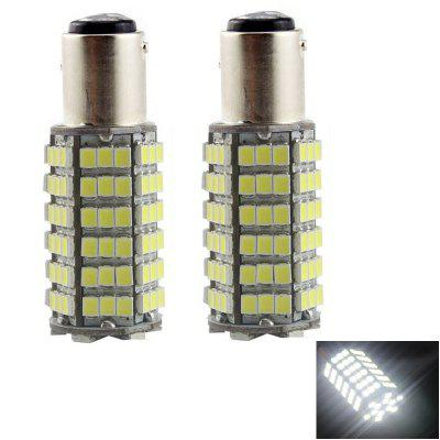 2PCS 1157 120LEDS 3528SMD Car LED Brake Lights Turn Signal Lights Tail Light DC12V