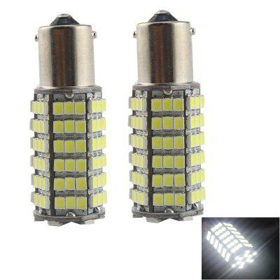 2PCS 1156 120LEDS 3528SMD Car LED Brake Lights Turn Signal Lights Tail Light DC12V