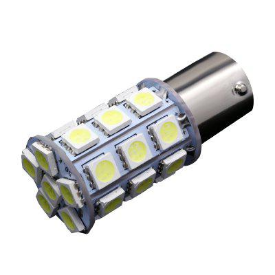 10PCS  White Car RV 1156 BA15S 27-SMD 5050 Dome LED Interior Light Bulb P21W