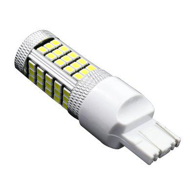 2PCS Super White 63smd High Power 7443 7440 T20 2835 Headlight lamp LED bulbs 12-24vCar Headlights<br>2PCS Super White 63smd High Power 7443 7440 T20 2835 Headlight lamp LED bulbs 12-24v<br><br>Apply lamp position: External Lights<br>Color temperatures: 6000-6500K<br>Connector: T20(7440 7443)<br>Emitting color: White<br>Feature: Easy to use, Spotlight, Power saver, Low Power Consumption<br>Identification: CE<br>LED Type: SMD-2835<br>LED/Bulb quantity: 63<br>Light mode: Steady<br>Lumens: 500LM<br>Model: 7440 7443 T20<br>Package Contents: 2 x Car Led Light<br>Package size (L x W x H): 10.00 x 6.00 x 2.00 cm / 3.94 x 2.36 x 0.79 inches<br>Package weight: 0.0310 kg<br>Power: 3W<br>Product size (L x W x H): 6.50 x 2.00 x 2.00 cm / 2.56 x 0.79 x 0.79 inches<br>Product weight: 0.0300 kg<br>Type: Car LED, Daytime Running Light, Tail Light, Steering Light, Rear Lights, Rear Turn Signal, Bumper Light, Backup Light, Width Light<br>Type of lamp-house: LED<br>Voltage: 12V-24V