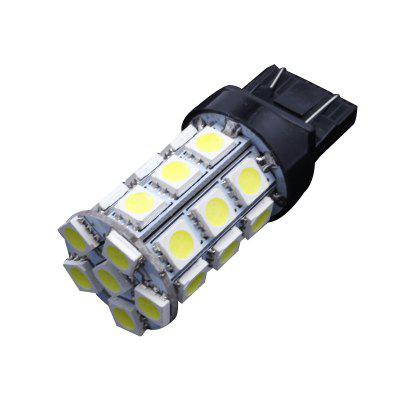 10PCS White 27SMD T20 7440 7443 Tail Brake Reverse Backup LED Light Bulb Supper Bright