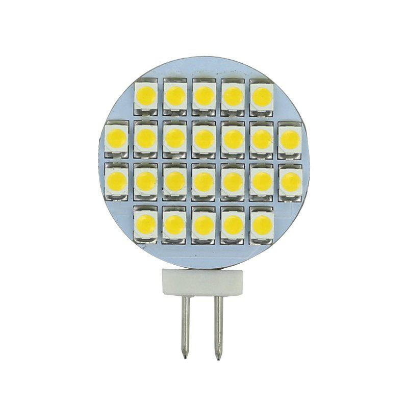 Image result for 10PCS G4 2Watt 24 SMD 3528 LED Dimmable Boat RV Spot Light Bulb DC 12V Warm White
