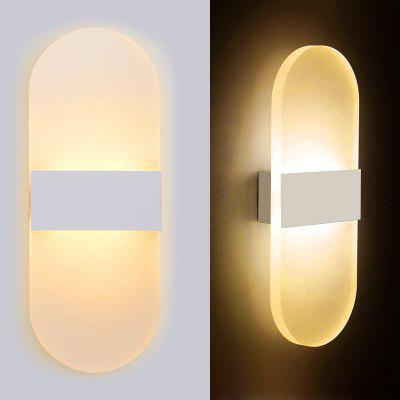 29mm Creative Mini 3W LED Wall Lamp Bedroom Bedside Living Room Balcony Light