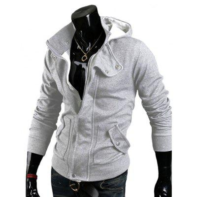 Mens Cardigan Unlined HoodiesMens Hoodies &amp; Sweatshirts<br>Mens Cardigan Unlined Hoodies<br><br>Material: Acetate, Cotton Blends<br>Package Contents: 1xHoodie<br>Shirt Length: Regular<br>Sleeve Length: Full<br>Style: Casual<br>Weight: 0.3300kg