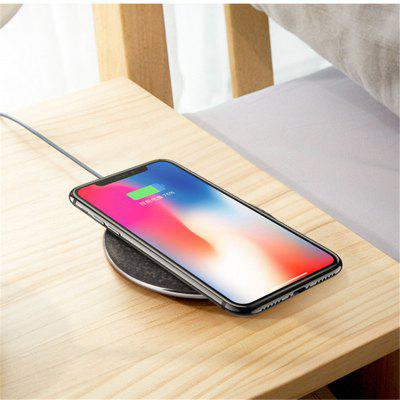 цена на Qi Wireless Charger 5V1A Desktop Wireless Fast Charging Pad For iPhone X / 8 / 8 Plus Samsung Galaxy S8 / S8 + / Note 8