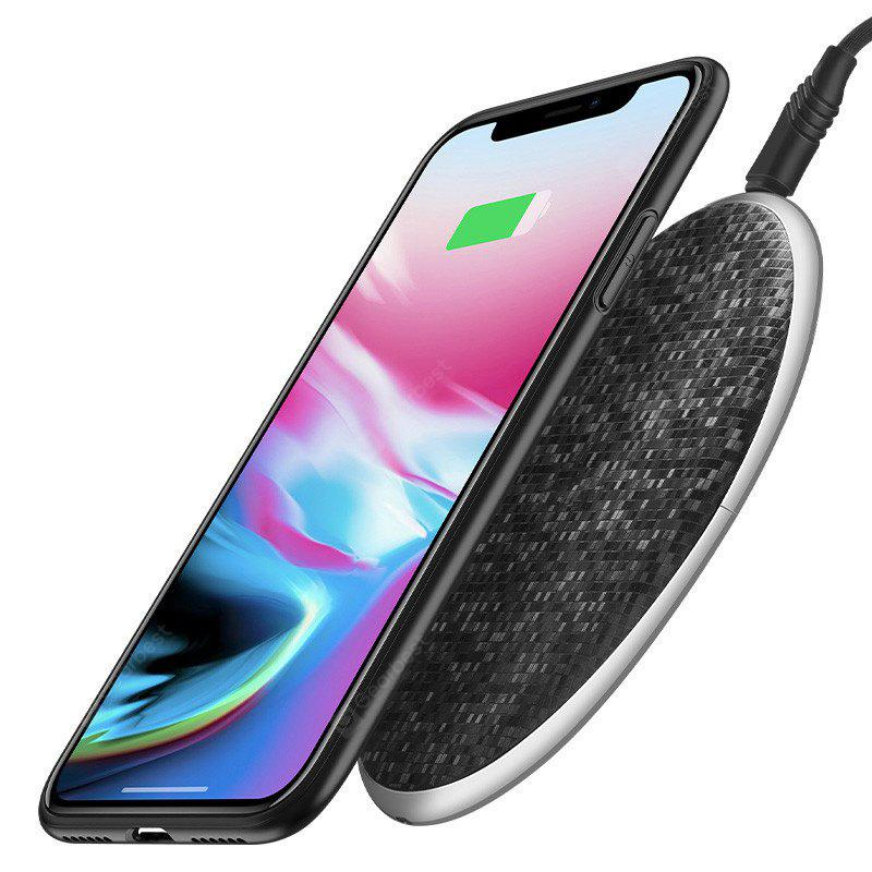 Qi Wireless Charger 5V1A Desktop Wireless Fast Charging Pad para iPhone X / 8/8 Plus Samsung Galaxy S8 / S8 + / Nota 8