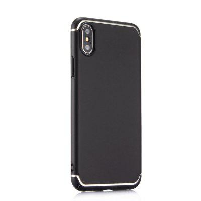 Estojo de telefone ultra fino para iPhone X Matte PC Hard Back Cover