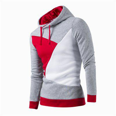 Fashion Color Casual  HoodieMens Hoodies &amp; Sweatshirts<br>Fashion Color Casual  Hoodie<br><br>Fabric Type: Broadcloth<br>Material: Cotton, Polyester<br>Package Contents: 1 X Hoodie<br>Shirt Length: Regular<br>Sleeve Length: Full<br>Style: Casual<br>Weight: 0.3500kg