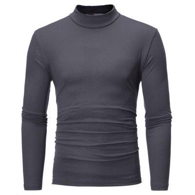 Fashion Color All-Match Turtleneck Mens Long Sleeve T-Shirt Bottoming ShirtMens T-shirts<br>Fashion Color All-Match Turtleneck Mens Long Sleeve T-Shirt Bottoming Shirt<br><br>Collar: Round Neck<br>Fabric Type: Broadcloth<br>Material: Cotton, Polyester<br>Package Contents: 1 X T-Shirt<br>Pattern Type: Solid<br>Sleeve Length: Full<br>Style: Casual<br>Weight: 0.3000kg