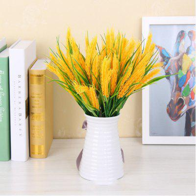 4 pcs natural dried flowers decorative wheat bouquet artificial