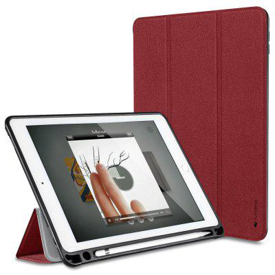 iVAPO for iPad Pro 9.7 Case Brief Business Style PU Slim Flip Folio Case with Pencil Holder/Stand Auto Sleep/Wake Function