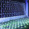 BRELONG 96LED Network lights 1.5m x 1.5m Outdoor waterproof star light string 220V EU - WHITE