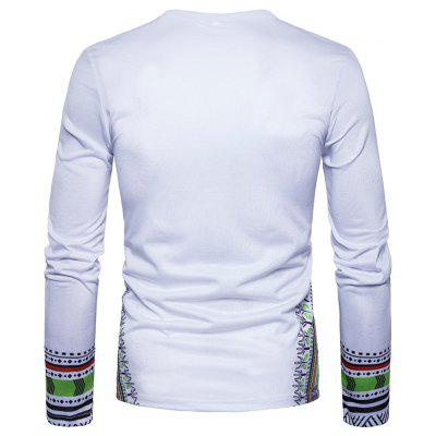New Creative People 3D Printed Long Sleeved T-ShirtMens Long Sleeves Tees<br>New Creative People 3D Printed Long Sleeved T-Shirt<br><br>Collar: Round Neck<br>Material: Polyester<br>Package Contents: 1 xT-shirt<br>Pattern Type: Others<br>Sleeve Length: Full<br>Style: Casual<br>Weight: 0.2500kg