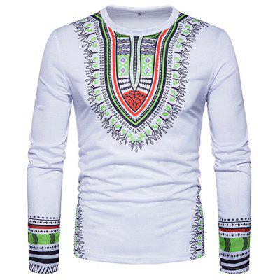 New Creative People 3D Printed Long Sleeved T-Shirt