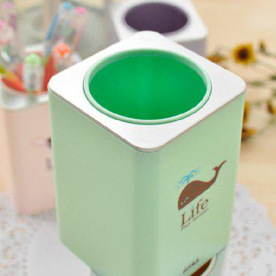 Contracted Small and Fresh Pencil Desk Office Supplies Receive Box