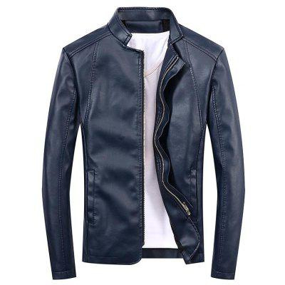 Mens Cashmere Casual PU Fur CoatMens Jackets &amp; Coats<br>Mens Cashmere Casual PU Fur Coat<br><br>Clothes Type: Leather &amp; Suede<br>Collar: Stand Collar<br>Material: Faux Leather<br>Package Contents: 1 X Coat<br>Season: Spring, Fall<br>Shirt Length: Regular<br>Sleeve Length: Long Sleeves<br>Style: Casual<br>Weight: 0.6000kg