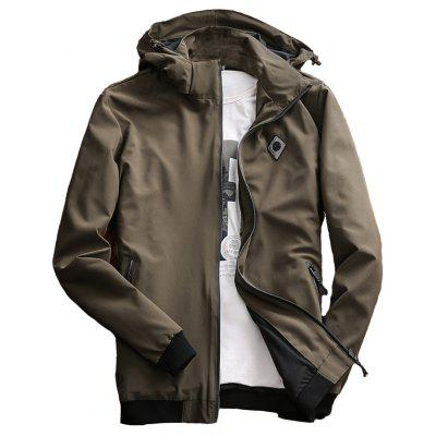 Chaqueta casual para hombres Chic Windproof All Match Outdoor Jacket