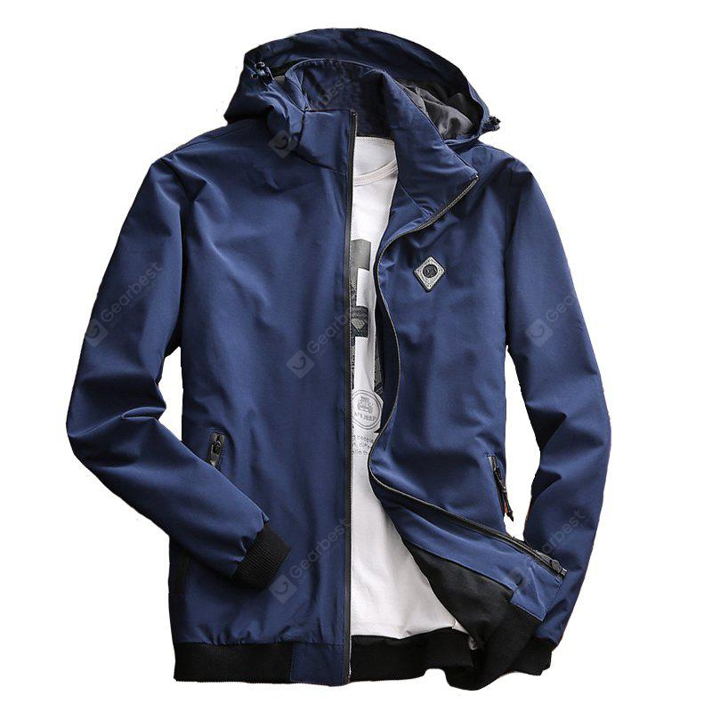 Men's Casual Jacket Chic Windproof All Match Outdoor Jacket