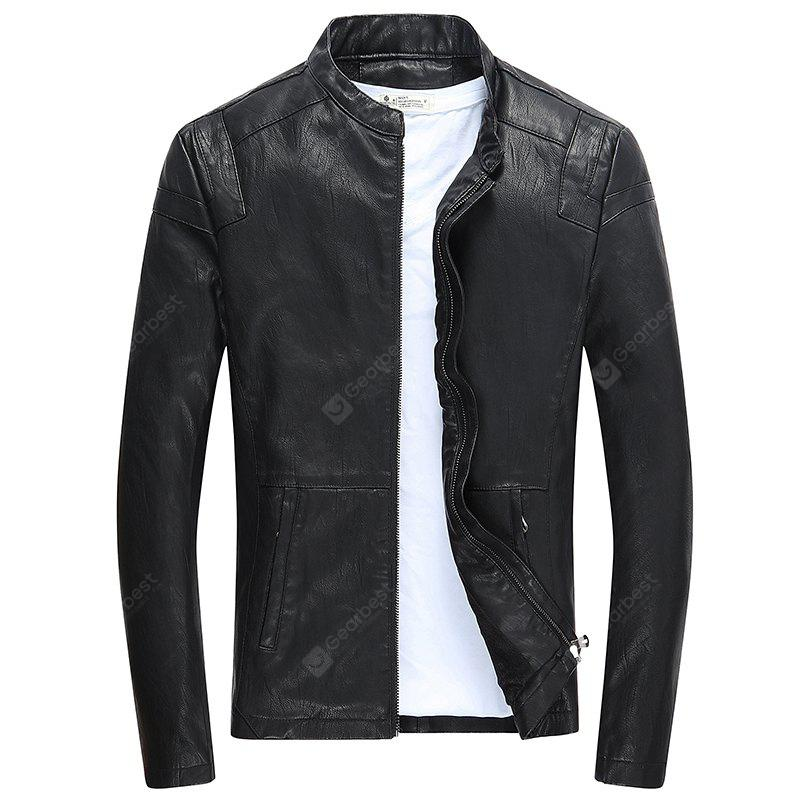 Men's Leisure Fashion Fashion PU Fur Clothes