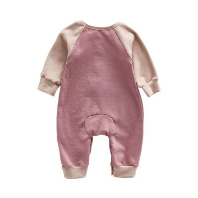 Cute Cartoon Foal Jumpsuitbaby rompers<br>Cute Cartoon Foal Jumpsuit<br><br>Closure Type: Pullover<br>Collar: Round Neck<br>Gender: Unisex<br>Material: Cotton, Cotton Blend<br>Package Contents: 1 x Jumpsuits<br>Season: Spring<br>Sleeve Length: Full<br>Thickness: General<br>Weight: 0.3000kg