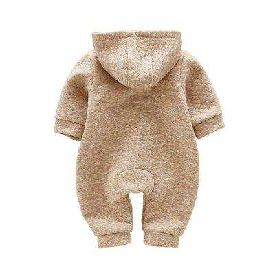 Cartoon Three Bear Jumpsuitbaby rompers<br>Cartoon Three Bear Jumpsuit<br><br>Closure Type: Zipper<br>Collar: Hooded<br>Gender: Unisex<br>Material: Cotton, Cotton Blend<br>Package Contents: 1 x Jumpsuits<br>Pattern Style: Character<br>Season: Spring<br>Sleeve Length: Full<br>Thickness: General<br>Weight: 0.1000kg