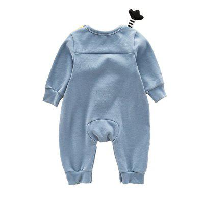 Cute Little Love Spring Cartoon Chicken Pure Cotton Jumpsuitbaby rompers<br>Cute Little Love Spring Cartoon Chicken Pure Cotton Jumpsuit<br><br>Closure Type: Pullover<br>Collar: Round Neck<br>Gender: Unisex<br>Material: Cotton, Cotton Blend<br>Package Contents: 1 x Jumpsuits<br>Pattern Style: Character<br>Season: Spring<br>Sleeve Length: Full<br>Thickness: General<br>Weight: 0.3000kg