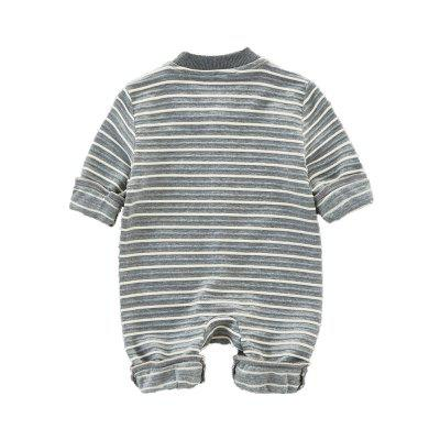 Cute Spring Cartoon Dinosaur Striped Jumpsuitbaby rompers<br>Cute Spring Cartoon Dinosaur Striped Jumpsuit<br><br>Closure Type: Single Breasted<br>Collar: Round Neck<br>Decoration: Pattern<br>Gender: Unisex<br>Material: Cotton, Cotton Blend<br>Package Contents: 1 x Jumpsuit<br>Season: Spring<br>Sleeve Length: Full<br>Thickness: General<br>Weight: 0.2500kg