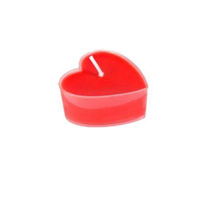 1Pcs Sweet Romantic Love Heart Shaped Floating Scented Candles