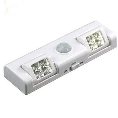 Wireless Motion Sensor Light for Night Light Battery Light for Cabinet Drawer Staircase Workshop Basement Garage