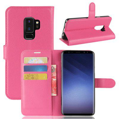 Phone Cover PU Case Skin with Stand for Samsung Galaxy S9 Plus