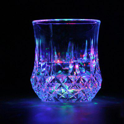LED RGB Colorful Flashing Induction Light Beer Cup Plastic Water Cups Nightlight for Nightclub Bar Party Parties