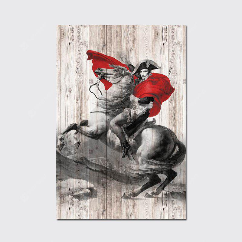QiaoJiaHuaYuan No Frame Canvas Living Room Sofa Background art Decapitation Hangs a Horse Riding Warrior