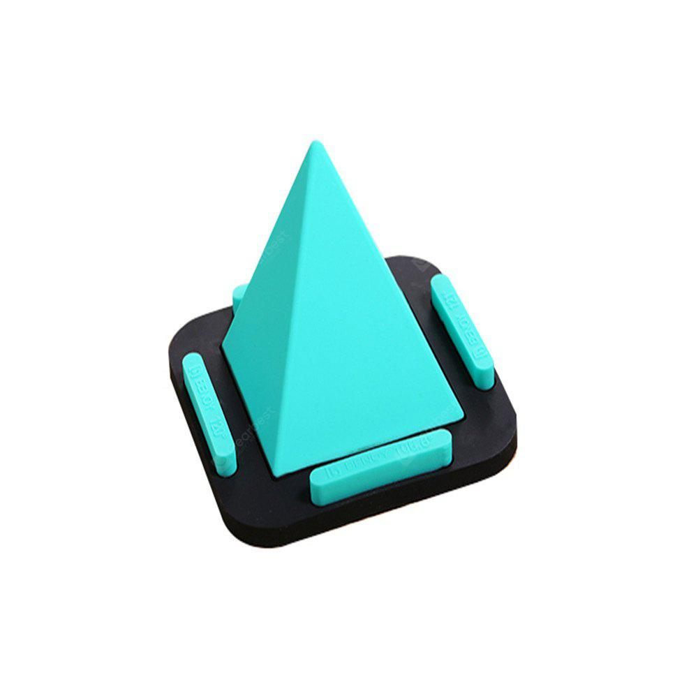 Clever Design Non-Slip Pad Pyramid Rack Mobile Phone Holder