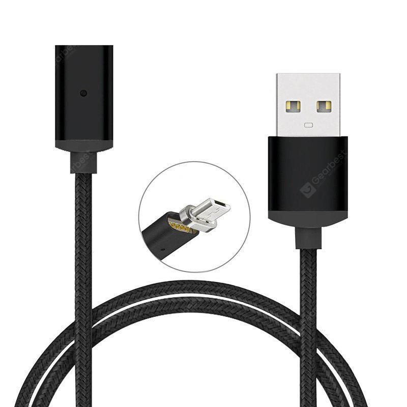 1M Cable for Micro USB V8 Charging Magnetic Adapter Charger for Smart Phone Tablet
