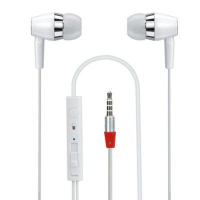 Wired Metal In Ear Headphones  Noise Isolating Stereo Bass Earphones With Mic Dynamic Drivers Earbuds Provide Stereo/ C