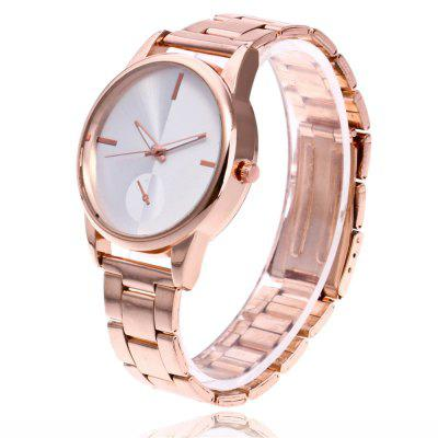 ZhouLianFa New Outdoor Small Dial Pure White Quartz Watch with Gift BoxWomens Watches<br>ZhouLianFa New Outdoor Small Dial Pure White Quartz Watch with Gift Box<br><br>Band material: Stainless Steel<br>Band size: 23 x 2cm<br>Brand: ZhouLianFa<br>Case material: Alloy<br>Clasp type: Folding clasp with safety<br>Dial size: 4 x 4 x 1cm<br>Display type: Analog<br>Movement type: Quartz watch<br>Package Contents: 1 x Watch , 1 x Box<br>Package size (L x W x H): 12.00 x 8.00 x 9.00 cm / 4.72 x 3.15 x 3.54 inches<br>Package weight: 0.1300 kg<br>Product size (L x W x H): 23.00 x 4.00 x 1.00 cm / 9.06 x 1.57 x 0.39 inches<br>Product weight: 0.0600 kg<br>Shape of the dial: Round<br>Watch mirror: Mineral glass<br>Watch style: Business, Casual, Fashion, Retro, Outdoor Sports, Childlike, Classic<br>Watches categories: Women,Female table<br>Water resistance: No