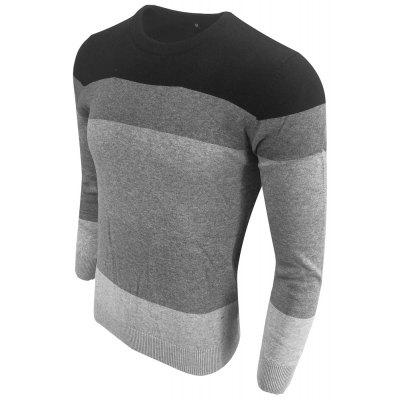 Spring and Autumn Long-Sleeved Round Neck Color Hit Fashion Casual Knit SweaterMens Sweaters &amp; Cardigans<br>Spring and Autumn Long-Sleeved Round Neck Color Hit Fashion Casual Knit Sweater<br><br>Collar: Round Collar<br>Hooded: No<br>Material: Acrylic<br>Package Contents: 1XPullover<br>Package size (L x W x H): 1.00 x 1.00 x 1.00 cm / 0.39 x 0.39 x 0.39 inches<br>Package weight: 0.3000 kg<br>Pattern Type: Striped<br>Size1: M,L,XL,2XL,3XL<br>Sleeve Length: Full<br>Style: Casual<br>Technics: Computer Knitted<br>Thickness: Standard<br>Type: Pullovers