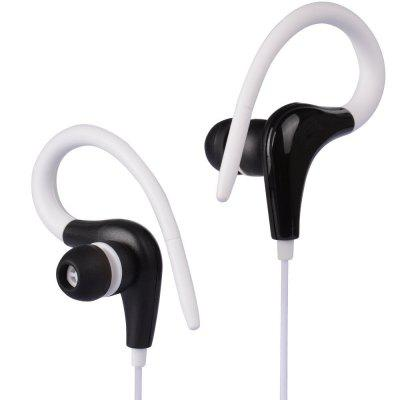 Hang Ear Type Stereo Wired Headset for Phone 3.5MM