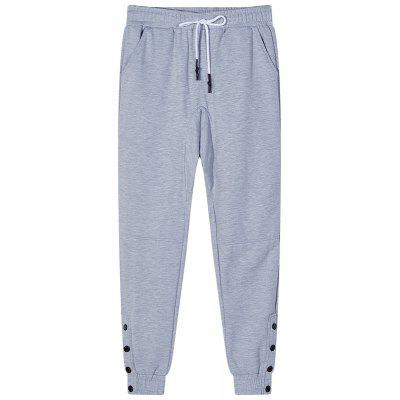 Men's Bust Button Sports and Leisure Pants