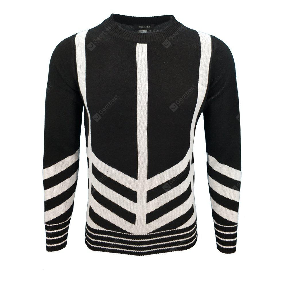 Mens Fashion Casual Knit Pullover All-Match Young Men