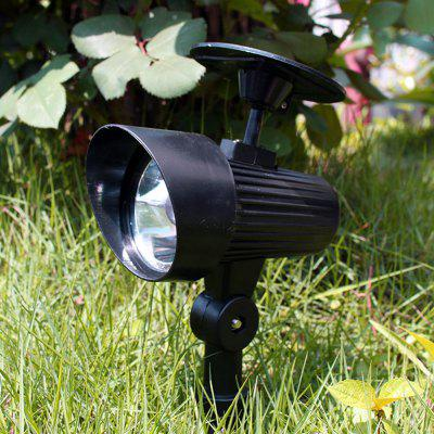 1PCS Solar Street Lamp LED Lawn Outdoor Solar Projecting Floodlight Household Courtyard