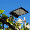 1PCS Ultra Bright Solar Wall Lamp Courtyard Lamp 36LED Lamp Garden Country Street Lamp Human Body Induction Lamp - BLACK