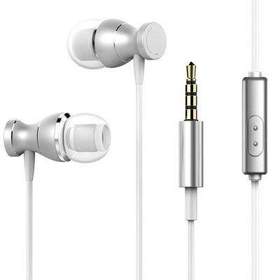 In-Ear Wired Headphones, Stereo Earphones with Microphone Earbuds for 3.5mm Interface Devices