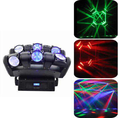 MITU SHOW 6 LEDs Moving Head Light Professional DJ Stage Equipment