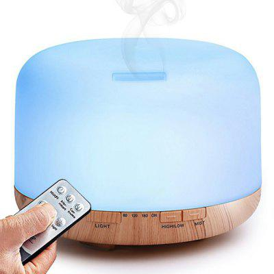 Home Use Remote Control 500ML 7 LED Changing Lights Ultrasonic Aroma Diffuser Humidifier